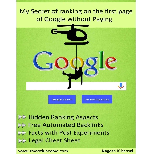 کتاب My Secret Of Ranking On The First Page Of Google Without Paying